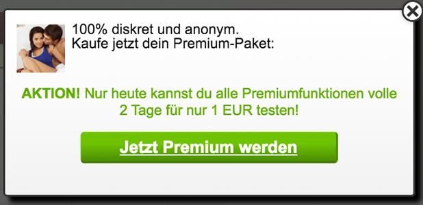 Testzugang für Premium-Mitgliedschaften