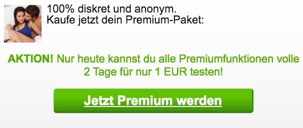 Tolles Angebot bei Sexkiste: 1 Euro für Premium-Mitgliedschaft