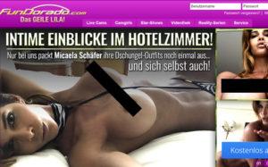 Micaela Schäfer Dschungelcamp Outfit