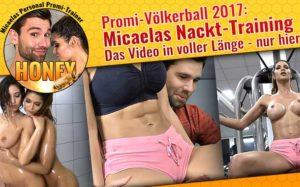 Micaela Schäfer und Honey Sextape